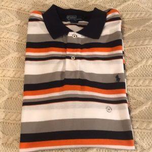Polo Ralph Lauren striped Pique L tall New no tag
